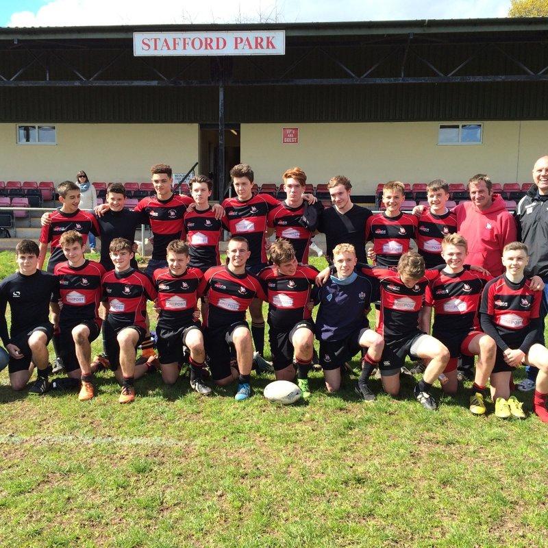 Thornbury U16 v Gordano U16