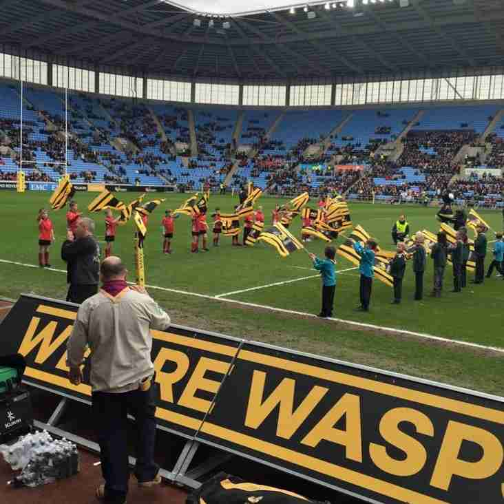 Walsall Under 9s at the Ricoh