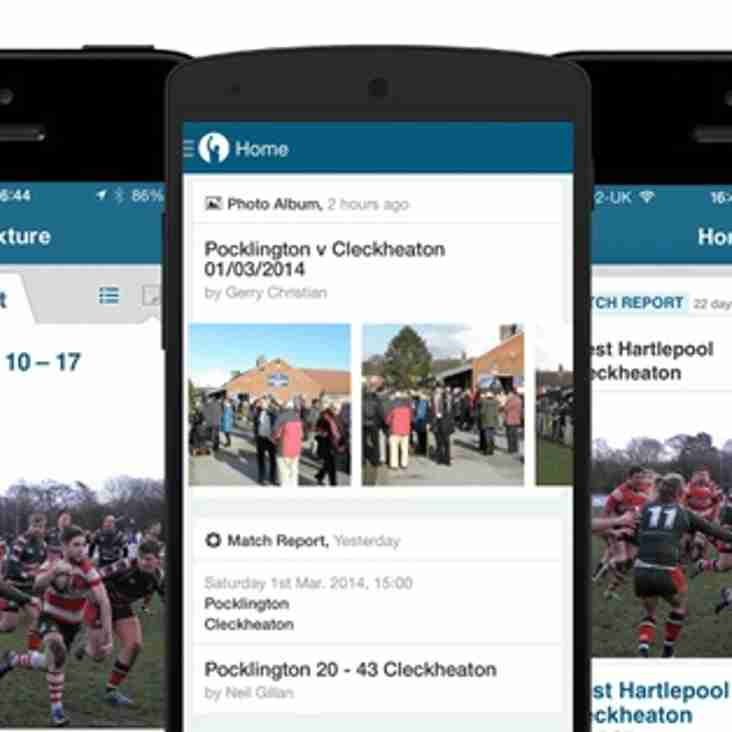 Pitchero App for Iphone and Android