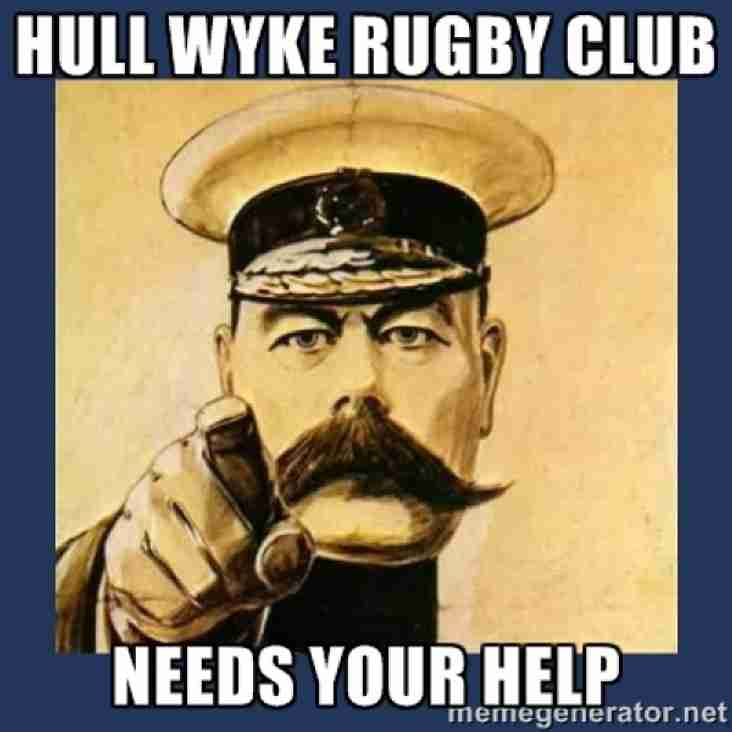 CAN YOU HELP - PROJECT WYKE !!!