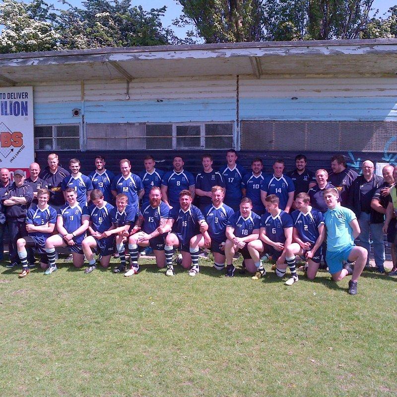 Hull Wyke Academy  beat Reckitts 40 - 6