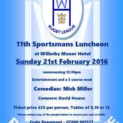 Last few tables remain for the annual luncheon