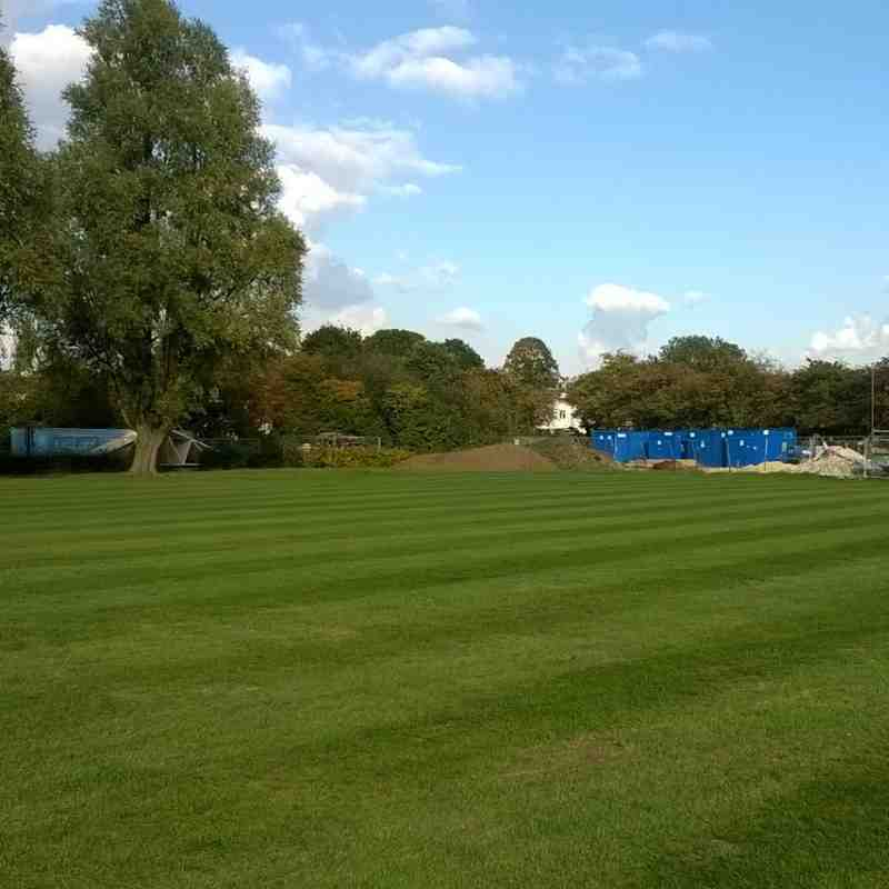 New build update and grass cut 16/10/15