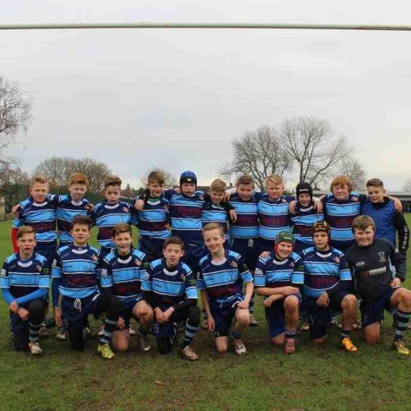Hull Wyke U13 v Milford Marlins - Yorkshire Cup 2015