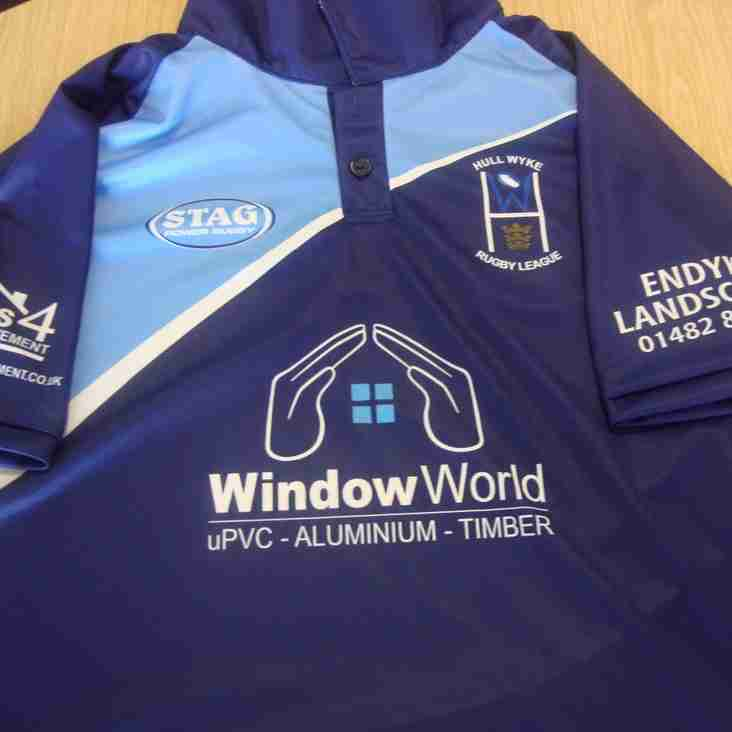 Window World become latest club sponsor