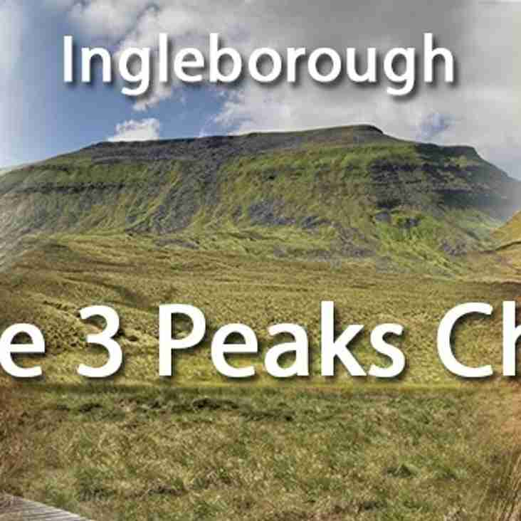 U10's fund raising challenge for new build - The 3 Peaks