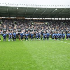 U6 Player Mascots at Hull FC April 2017