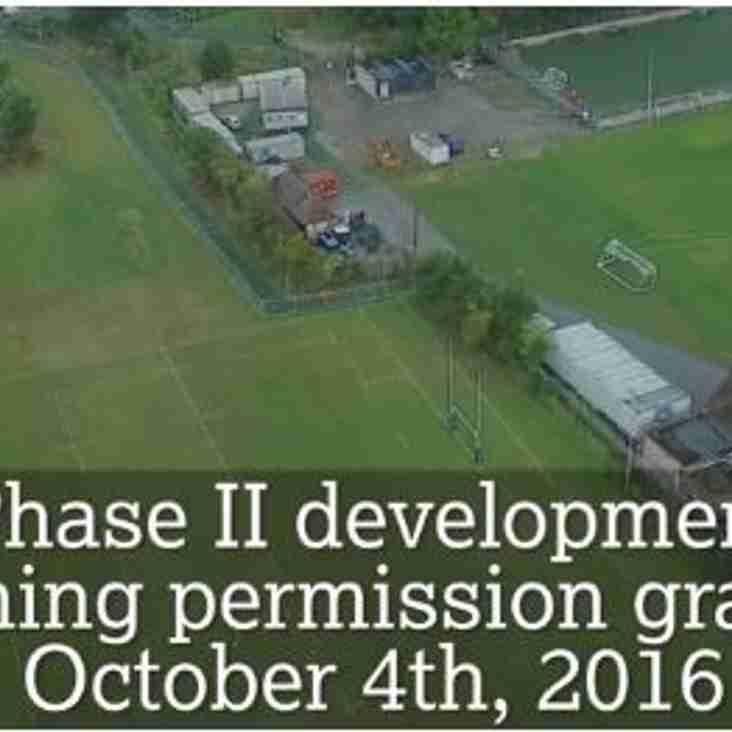 Facilities Development Update
