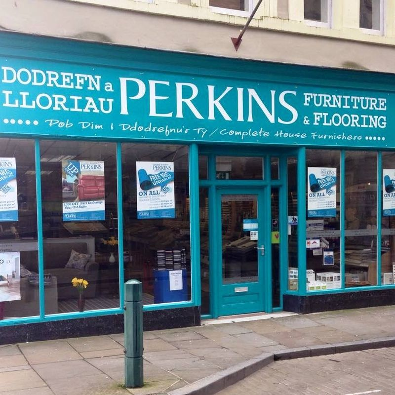 Today's Match Ball Sponsored by PERKINS FURNITURE & FLOORING