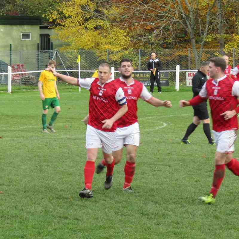 Llanidloes Town 2-5 Llanrug United (18.11.2017)