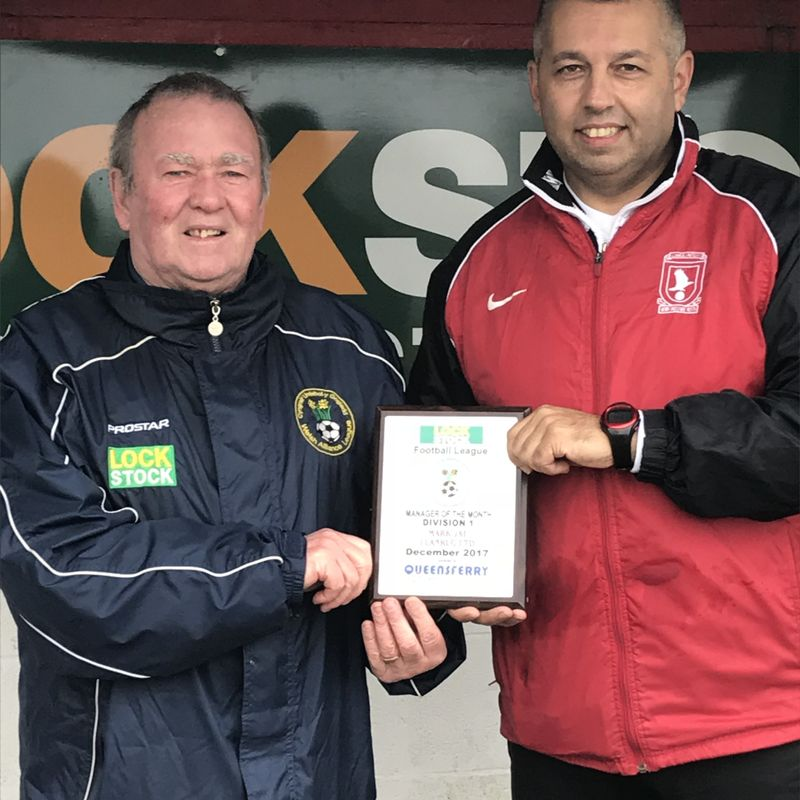 Mark Jat - December 2017 Manager of The Month
