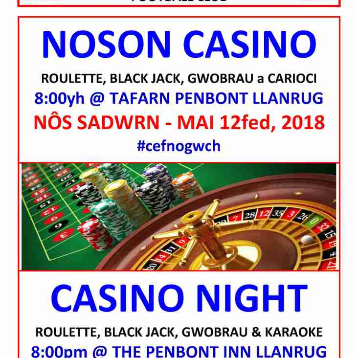 NOSON CASINO - CASINO NIGHT