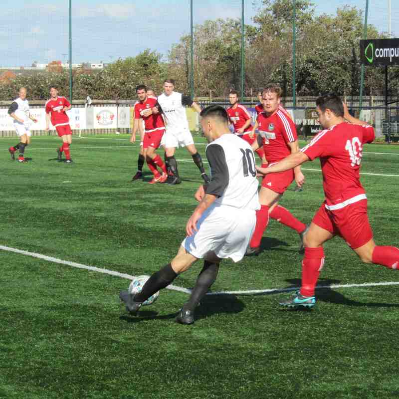 Llandudno Albion 3-1 Llanrug United (29.09.2018)