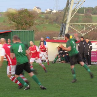 Llanrug United 4-4 Greenfield