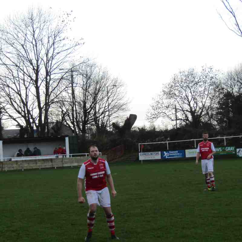 Llanrug United 4-4 Greenfield (08.12.2018)