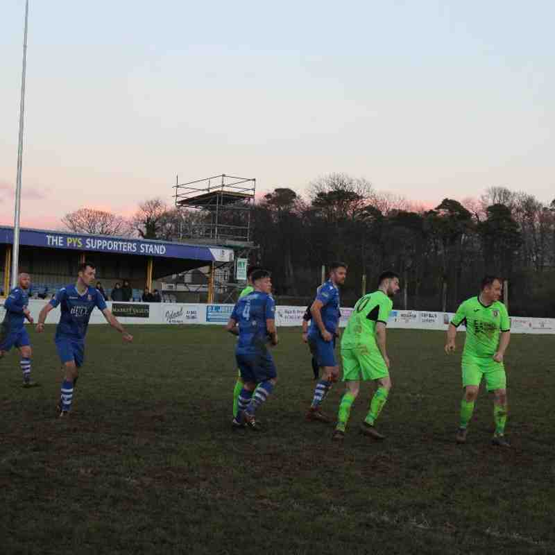 Llangefni Tn 4-2 Llanrug Utd (Cookson Cup Semi-Final 02.02.2019)