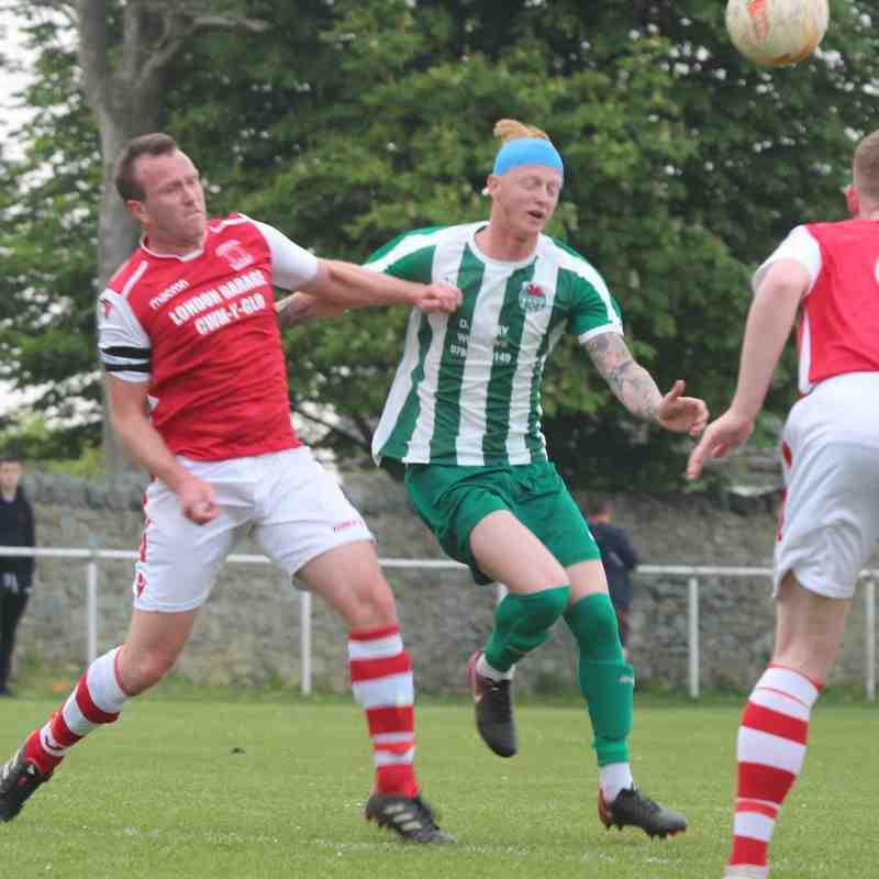 Bodedern Athletic 3-1 Llanrug United (22.04.2019)