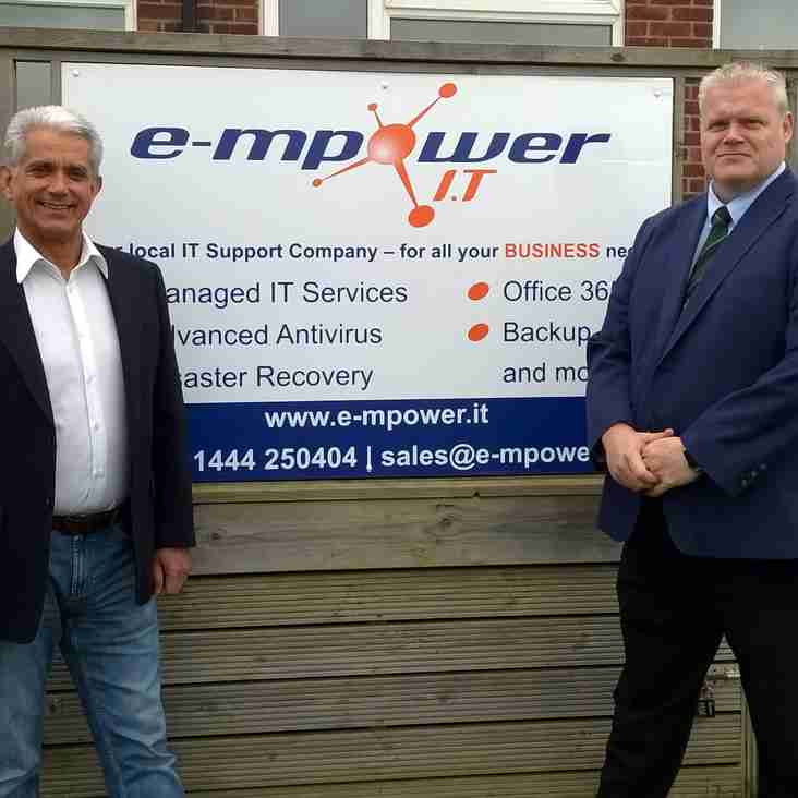 Nice Touch - E-mpower.IT become new Sponsors of BHRFC