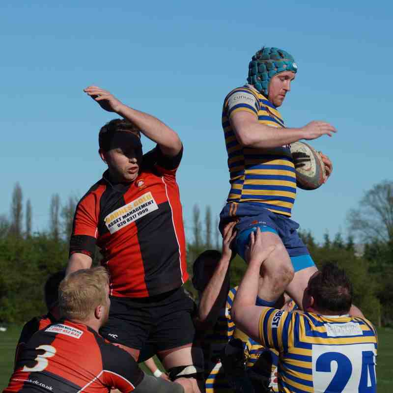 Footscray 1st XV vs. Greenwich RFC (Home) - 25th March 2017 (credit Pat Healey)