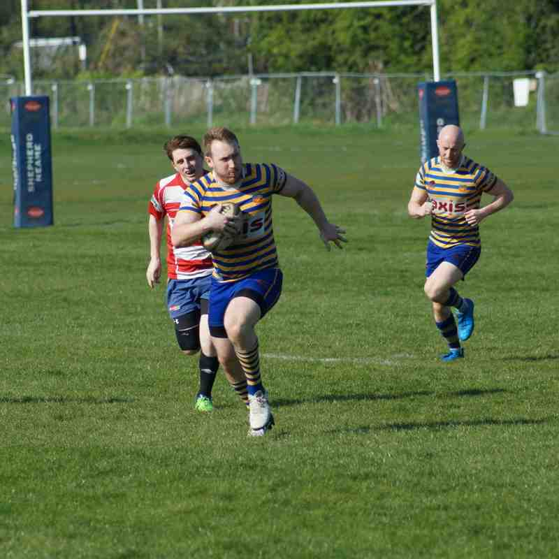 Footscray 1st XV vs. Bexley RFC (Home) - 8th April 2017 (credit Pat Healey)