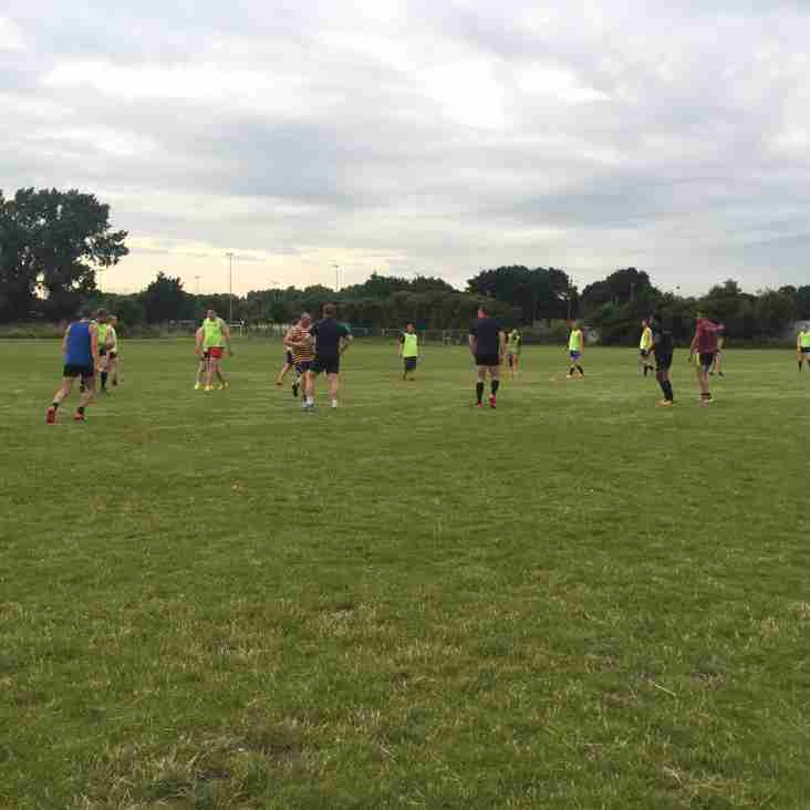 Touch Rugby starts tonight!