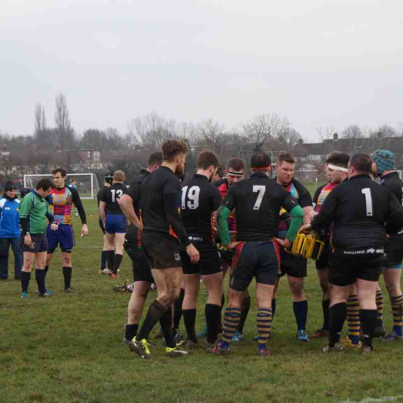 Footscray 1st XV vs. Whitstable RFC (Home) - 13th January 2018 (credit Pat Healey)