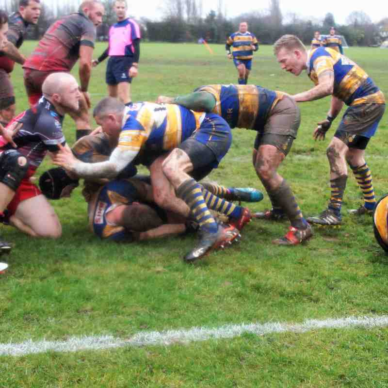 Footscray 1st XV vs. Dartford Valley RFC (Home) - 27th January 2018 (credit Pat Healey)