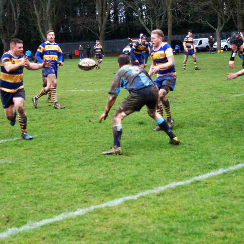 Footscray 1st XV vs. Faversham RFC (Away) - 3rd February 2018 (credit Pat Healey)