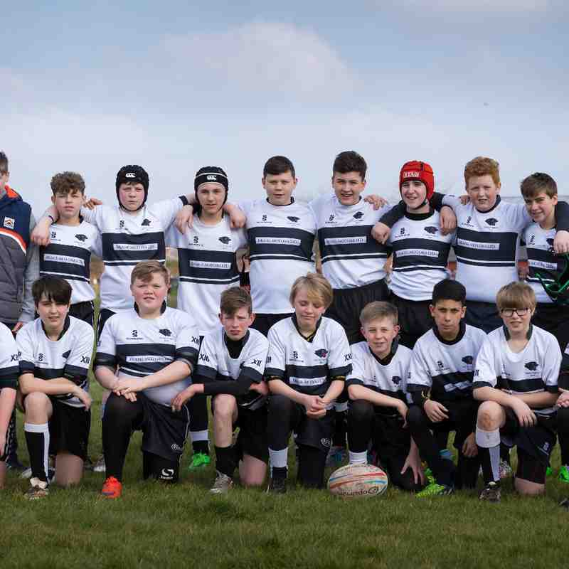 U13s v Cadishead Rhinos (March 2016)