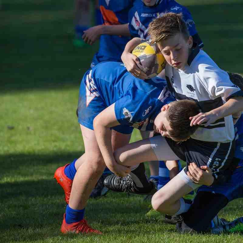 U13s v Bury Broncos
