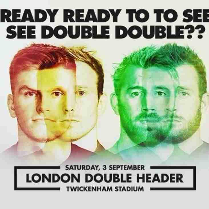 Twickenham Double Header - 03/09/16