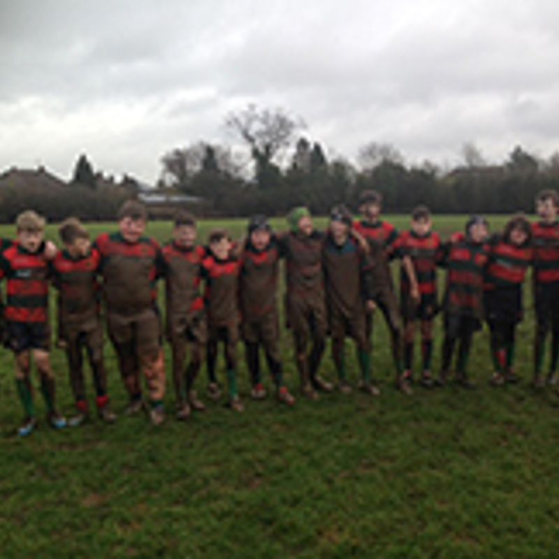 GREAT TEAM EFFORT FROM THE UNDER 13's