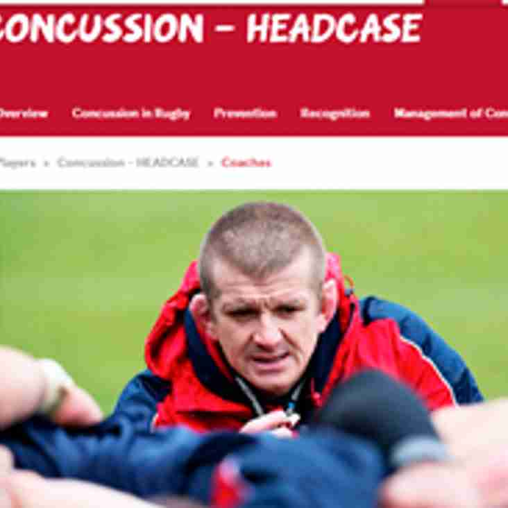 CONCUSSION AWARENESS 'HEADCASE'