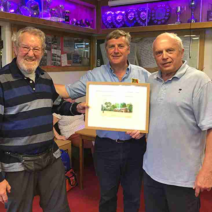 PRESENTATION TO ROGER MOAKES