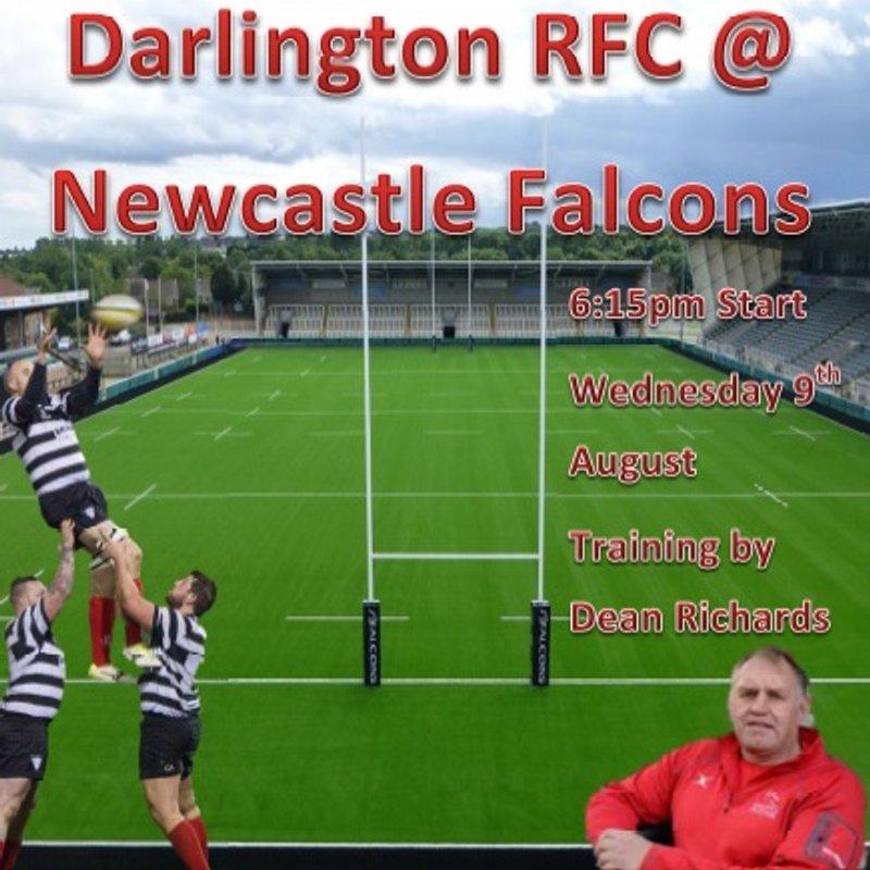 Darlington RFC @ Newcastle Falcons