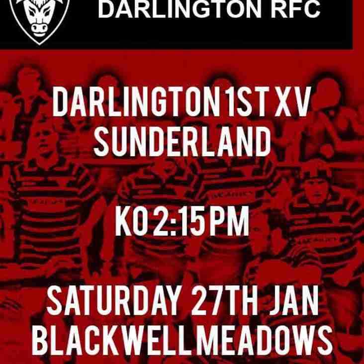 1st XV vs Sunderland