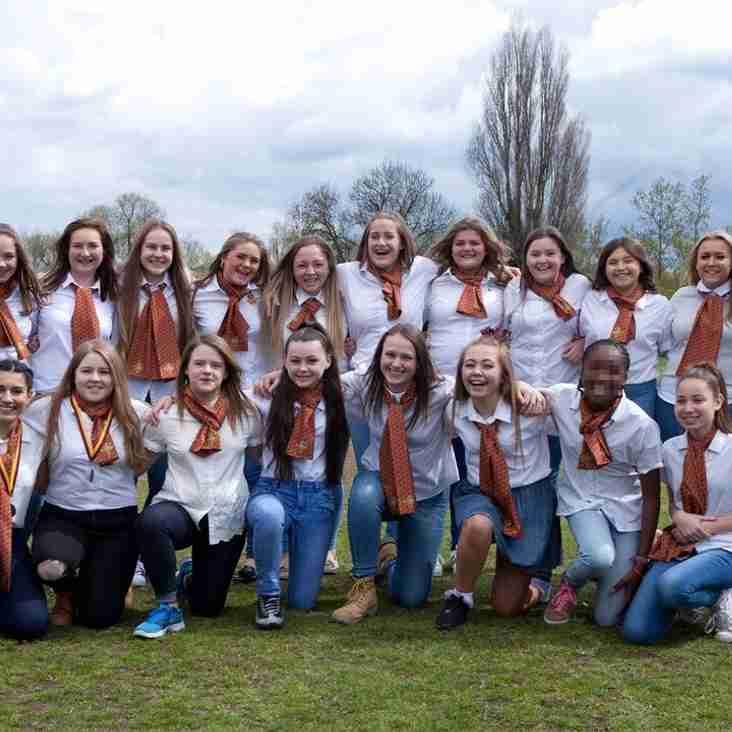 Darts Junior Girls - Presentation Day