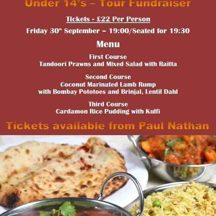 Adults Curry Night - 30th September