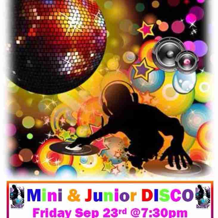 TONIGHT Friday 23rd DISCO.....Everyone Welcome