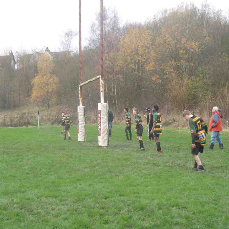 Amber Valley v Mellish U13s 15-16