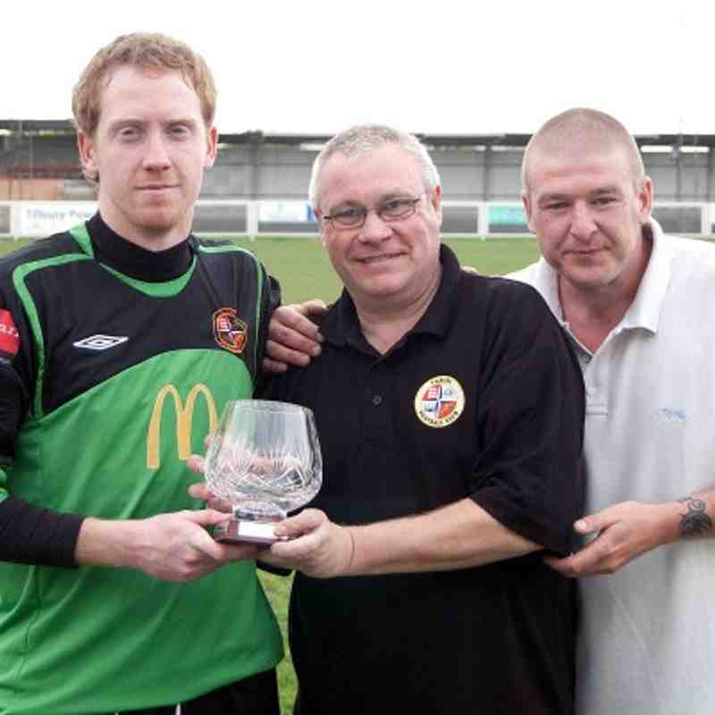 Supporters Player of the year 10/11