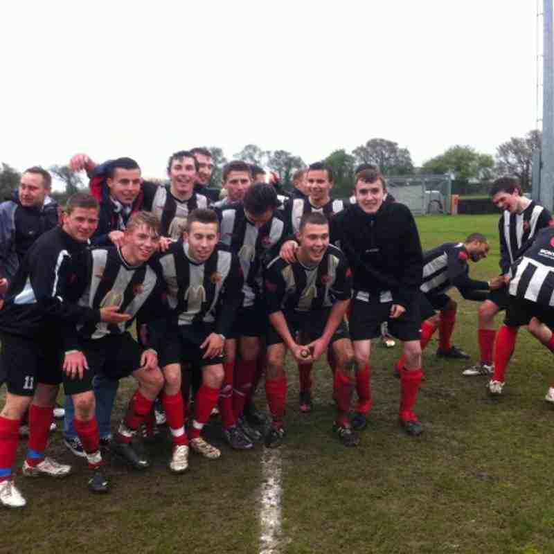 Grays Ath res v Tilbury res league shield final.