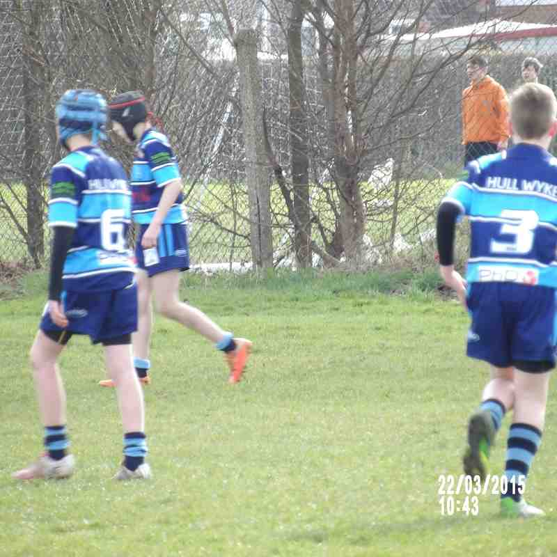 Myton Warriors V Hull Wyke U12's