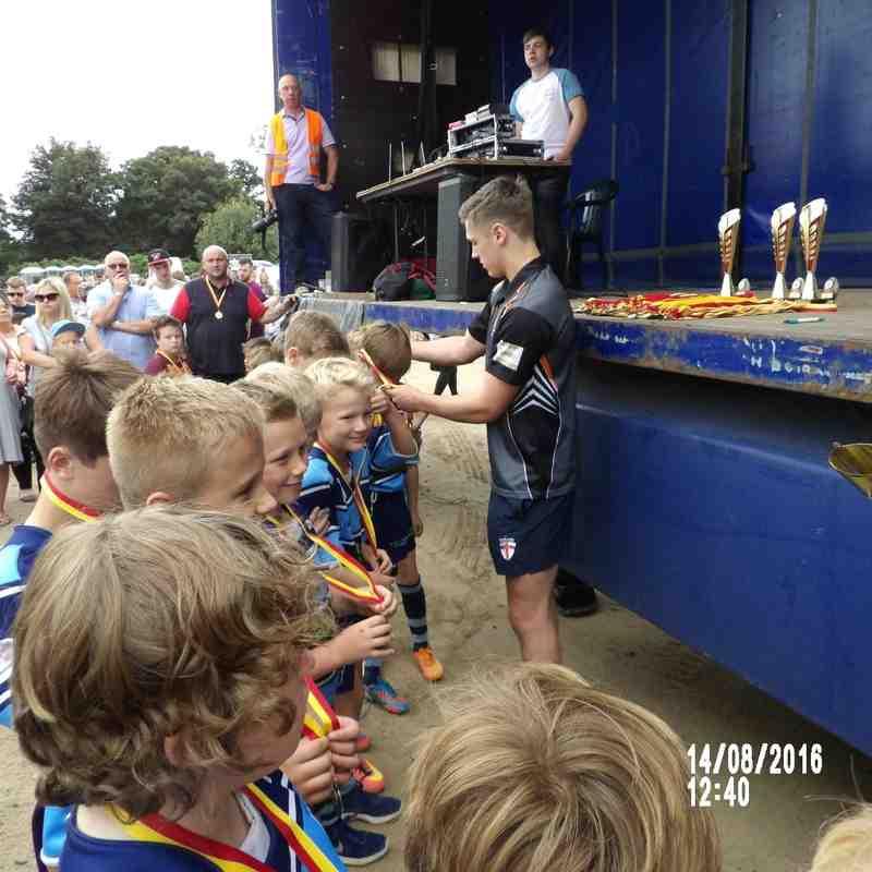 Hull Wyke U9's Dewsbury moor festival