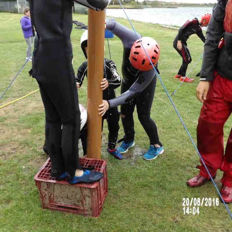 Hull Wyke U9's  Welton Waters Adventure day.
