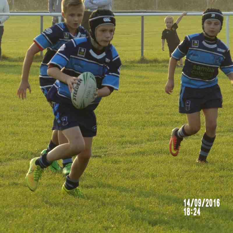 Skirlaugh U9's V Hull Wyke U9's