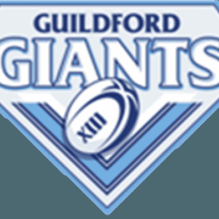 Match Report: Sussex Merlins 78 - 32 Giants