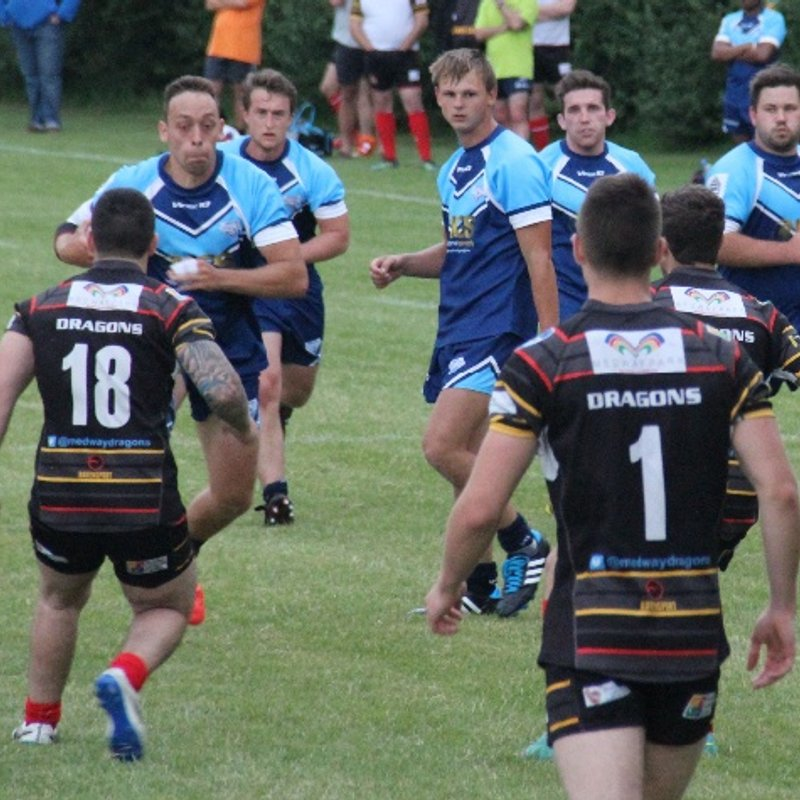 Match Report:  Giants 18 - 46 Medway