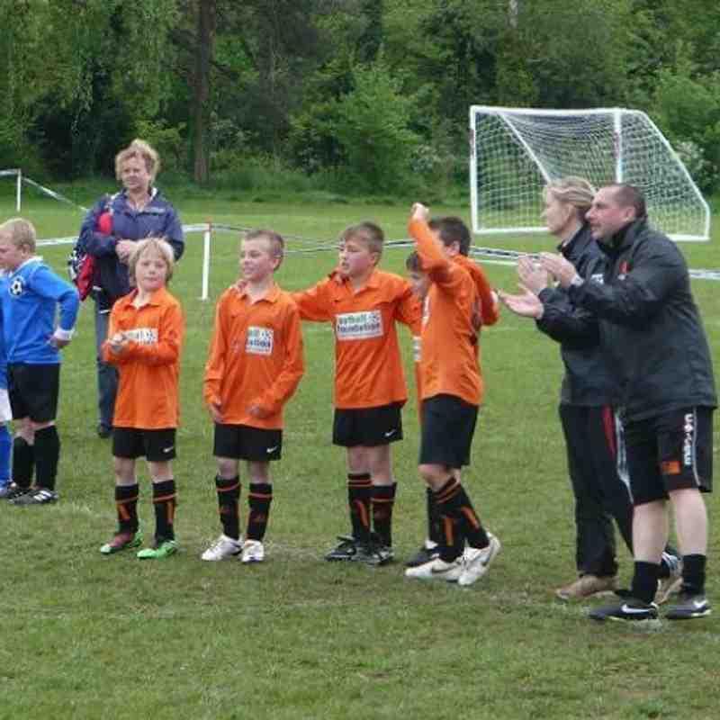 U9s Thornbury Winners 2010