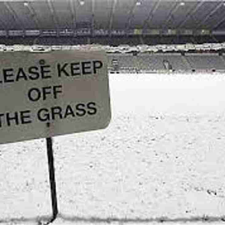 **Games Postponed due to weather conditions**